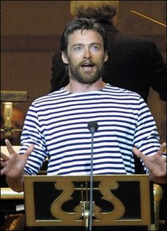 """Hugh Jackman performs """"Carousel"""" at Carnegie Hall. I wish I could've seen this!!!! He'd be an amazing Billy Bigelow."""