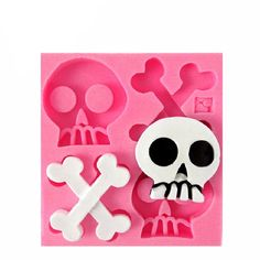 Skulls and Bones Silicone Mold