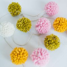 Handmade Yarn Pom Po
