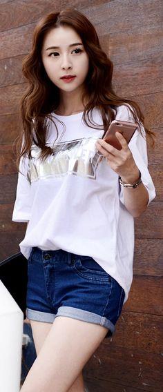 Korean Fashion Online Store 韓流 Trends Luxe Asian Women 韓国 Style Shop korean clothing Woman Power Top