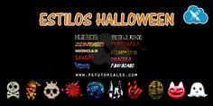 Estilos de Halloween – Pack 2   PS Tutoriales