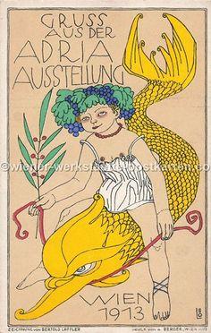wiener-werkstaette-postkarten.com Zeppelin, Princess Zelda, Fictional Characters, Postcards, Fantasy Characters