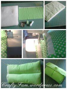 DIY Nursing Pillow Sleeve
