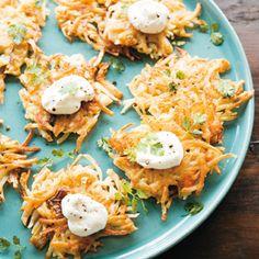 Rezept von Kirsten K. Shockey & Christopher Shockey: Kimchi-Latkes