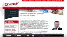 """Harald Psaridis ist seit 1.1.2013 -  """"5 Sterne Redner!""""  Mehr direkt auf der Homepage der 5 Sterne Redneragentur:  http://www.5-sterne-redner.de/referenten/harald-psaridis"""