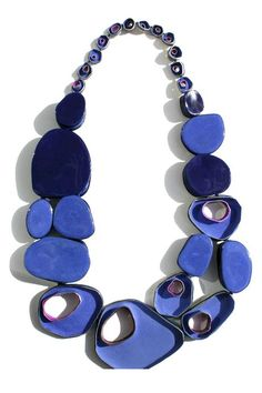 Jasmin Winter --- Enamelled, blackened gilded silver is the basic material of my… Enamel Jewelry, Jewelry Art, Beaded Jewelry, Handmade Jewelry, Beaded Necklace, Fashion Jewelry, Jewelry Design, Necklaces, Bone Jewelry