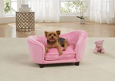 Enchanted Home Pet Ultra Plush Snuggle Bed in Light Pink ... https://smile.amazon.com/dp/B01K2C69KK/ref=cm_sw_r_pi_dp_x_lzgVyb69R3D95