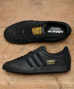 Scotts Menswear Exclusive - Adidas Gazelle OG Black & Gold