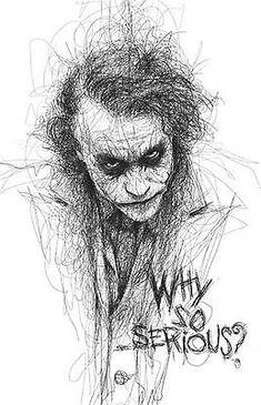 Batman # 19 - 8 x 10 Tee Shirt Iron On Transfer Joker 2008 Why so serious?