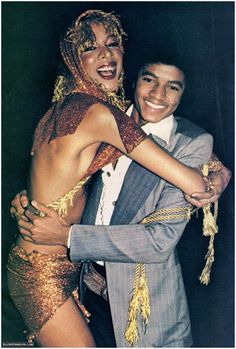 superseventies:  Michael Jackson and friend at Studio 54.