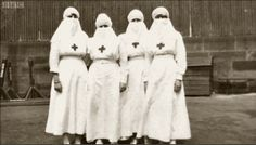 British nurses during the Influenza pandemic of 1918