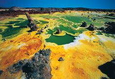 Désert du Danakil, Ethiopie.