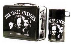 The Three Stooges Lunch Box with Thermos...okay not a toy but....