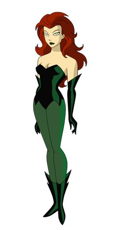 Batman TAS: Poison Ivy by TheRealFB1 by TheRealFB1