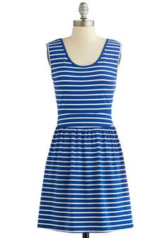 Lakeshore Picnic Dress. This item was picked by you in our Be the Buyer Program! #blue #modcloth