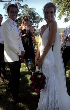 Our lovely Ashley and her love Julian Wilson. Congratulations lovebirds x