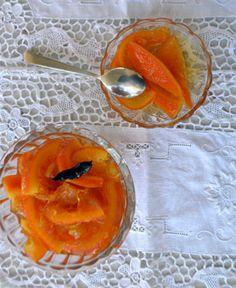 Γλυκό κουταλιού πορτοκάλι σε φέτες - Sweetly Fruit Preserves, Cantaloupe, Jelly, Sweet, Food, Candy, Essen, Meals, Yemek