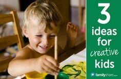 Activity ideas for creative children