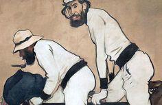 RAMON CASAS I CARBO (1866/1932), PITTORE SPAGNOLO – Modernismo catalano e movimenti d'avanguardia