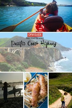 Outdoor Families Magazine's favorite family-friendly outdoor activities, eateries and lodgings to help you plan your own epic Pacific Coast Highway family road trip.