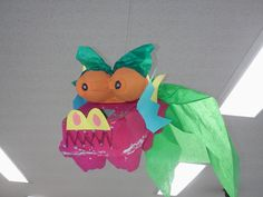 Egg Carton Dragon: I got this idea from activityvillage.co.uk and used it when we studied Chinese New Year in art class. 2012 is the year of the dragon! 3rd and 4th grade really enjoyed making these, and we had some pretty creative dragons!
