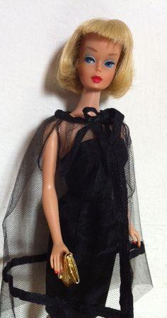 Vintage Barbie American Girl in Black Magic