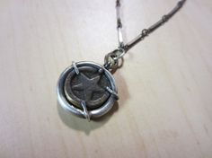 Antique Clock Turn Key Repurposed Pendant by ChrissyGemmillJewels, $58.00