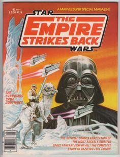 Marvel Comics Super Special #16, Spring 1980, NM-, Star Wars: The Empire Strikes Back film adaptation; Bob Larkin cover art, Al Williamson interior artwork, partial film cast and crew credits included. $50