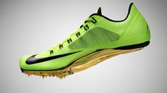 Nike Zoom Superfly R4 by Dezeen. Nike's global creative director for the Olympics Martin Lotti presents the Nike Zoom Superfly R4 sprinting shoe inspired by suspension bridges.