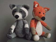 Willewopsie amigurumi animals