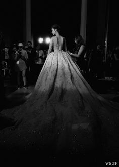 Zuhair Murad Haute Couture Fall 2015 Backstage