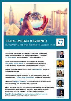 Digital Evidence Event - 21 November 2019