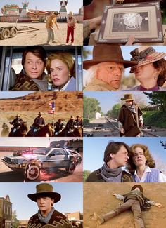 Back to the Future #3. Parts filmed on western set outside Sonora Ca.    Do my girls remember ? 1990-1991