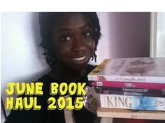 Check out my June Book Haul video: https://youtu.be/NsK-z4kNCv0