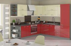Kuchynská linka Rose - Vera nábytok