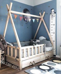 TIPI BETTBETT   Scandi Zimmer kleinkindzimmer TIPI BETTBETT   Scandi Zimmer #bettbett #kleinkindzimmer #scandi #zimmer