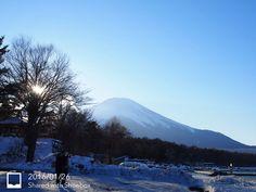 2016.01.25 #山中湖 #富士山