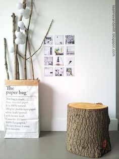 The Paper Bag, House Doctor, Decorating Your Home, Architecture Design, Recycling, Sweet Home, Place Card Holders, House Design, Pure Products