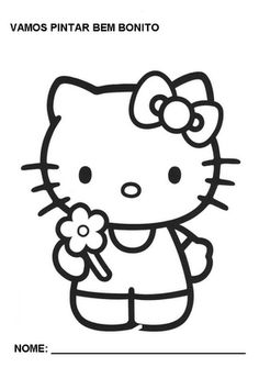 Kitten Coloring Pages For Kids Cat This Section Has A Lot Of Preschool Kindergarten And