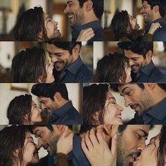 "I called it ""Real Love""❤️ Sad Pictures, Cute Couple Pictures, Cute Couples Photography, Burak Ozcivit, Best Love Stories, Best Novels, Turkish Actors, Beautiful Couple, Couple Goals"