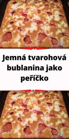 Czech Recipes, Pepperoni, Ricotta, Pudding, Bread, Food, Custard Pudding, Brot, Essen