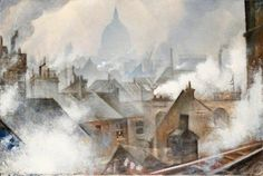 St Paul's from the South (Christopher Nevinson - )