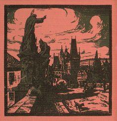 TAVÍK FRANTIŠEK ŠIMON (1877-1942) Old Town Prague