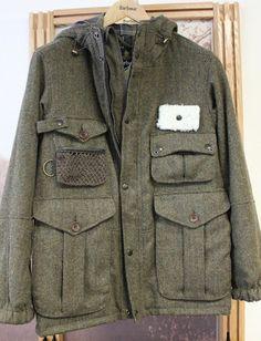 tweed fishing jacket by Barbour