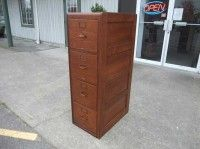 Antiques By Design - Yawman And Erbe Oak 4 Section Stacking File ...