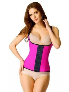 5bb9b13d69c FeelinGirl Latex Waist Cincher Steel Bone Corset Waist Corsets   Bustiers  Slimming Shapewear Vest Korsett for Women -A