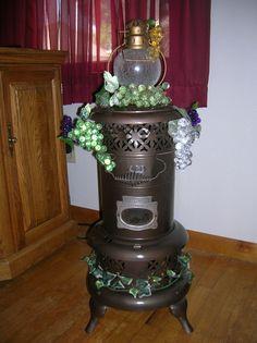 old oil heater