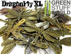 Steampunk Set 85 gr  LIBELLULE Grand Mix  par GreenStuffWorld
