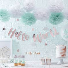 ***COMPETITION CLOSED***If you're planning a baby shower, then we have the competition for you! We've put together a bumper baby shower party kit, tha… Baby Shower Brunch, Baby Shower Menta, Décoration Baby Shower, Shower Party, Baby Shower Parties, Baby Boy Shower, Baby Shower Gifts, Shower Set, Baby Party