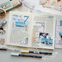 Bullet Journal Notes, Bullet Journal School, Bullet Journal Aesthetic, Bullet Journal Ideas Pages, Bullet Journal Inspiration, Music Journal, Scrapbook Journal, Journal Layout, My Journal